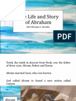 1-The Life and Story of Abraham-Brondial