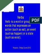 Verb for Grade 6