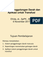 2.2.6.1 Sistem Penggolongan Darah Dan Aplikasi Untuk Transfusi Darah
