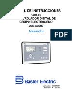Manual Instrucciones Accesorios Dgc-2020hd