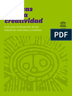 UNESCO Guia Por Una Economia Creativa