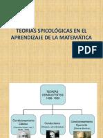 Teorías Spicológicas en El Aprednizaje de La Matemática