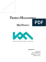 Project Management Mini