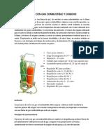 Corte Con Gas Combustible y Oxigeno