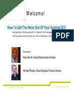 Control your future Dcs migration slide deck