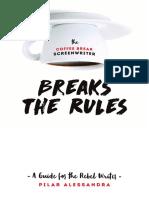 Coffee break Screenwriter Breaks the Rules sample PDF