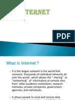 Internet (Short Presentation)