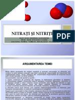 Nitrati Si Nitriti