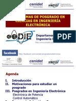 Maestrias y Doctorados en Electronica Del CENIDET