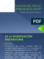 864 Actuacion Del Fiscal Superior en El Ncpp