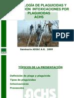 Plaguicidas Presentacion Achs Ago09