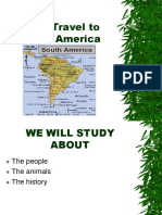 South America 2nd Grade