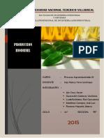 Produccion Biodiesel