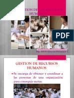 Clase 8.1 La Gestion de Los Recursos Humanos y Horarios (1)