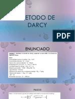 Metodo de Darcy
