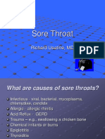 Sore Throat & Clinical Decision Making