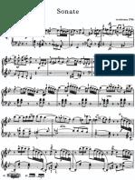 Haydn Piano Sonata