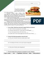 3 - Food and Health – Teste Diagnóstico (1)