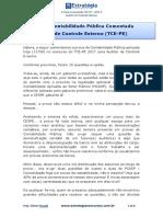 Prova Contabilidade Publica TCE-PE Comentada