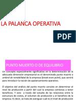 La Palanca Operativa 2011