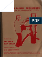 116 Wing Chun Dummy Techniques By Yip Man