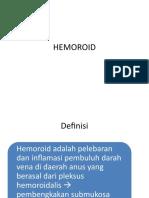 Hemoroid for Co-Ass