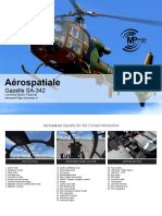 Aerospatiale Gazelle SA342 FSX P3D Quick Manual
