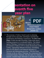 Presentation on 11th Five Year Plan