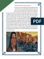 FECHAS CIVICAS DE NOVIEMBRE