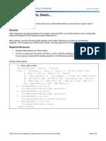 3.4.1.1 Class Activity - IPv6 - Details, Details... Instructions