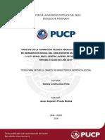Análisis de La Formación Técnico Productiva Del Sistema 2016 Tesis Pucp