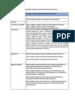 GMLC_CUS009_Actualizar Programa de Mantenimiento Preventivo Final