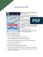 Cuestionario Punset Capitulos v XVII