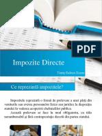 Impozite Directe