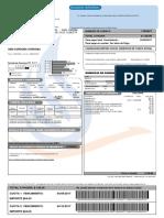 Factura Debito ECOGAS Nro 15261574