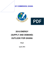 Energy Commission - 2016Energy Outlook for Ghana_final
