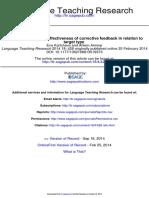 Language Teaching Research 2014 Kartchava 428 52