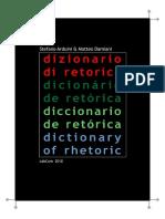Dizionario Di Retorica Arduini