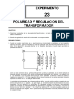 Polaridad y Regulacion Del Transformador p23