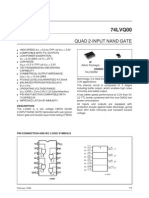 1.3 Quad 2- Input NANDd Gate