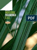 AGROINDUSTRIA PARAMMONGA