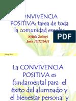CONVIVENCIA POSITIVA