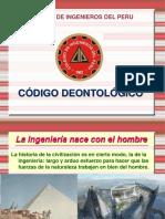 CODIGO DEONTOLOGICO CIP