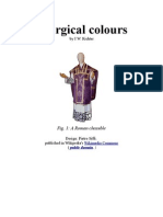 Liturgical (and Royal) Colours