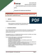 G04. Presupuestos de Instalaciones Domiciliarias.