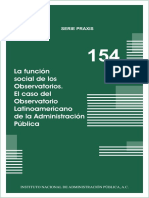 La Funcion Social de Losobservatorios.praxis154