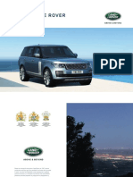 Range Rover Catálogo Brochure 2017