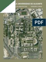 Campus de La Universidad de Alicante-españa