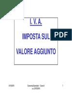 Slide Iva Ec Az 2015-2016 Corso A