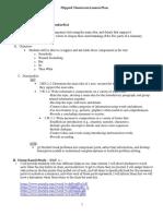 flipped classroom lesson plan